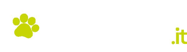 collare anti pulci logo bianco